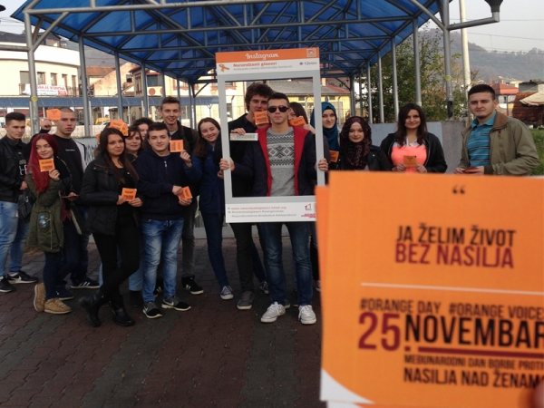 """YOUTH AGAINST VIOLENCE"" PROJECT IMPLEMENTED IN ZAVIDOVIĆI"