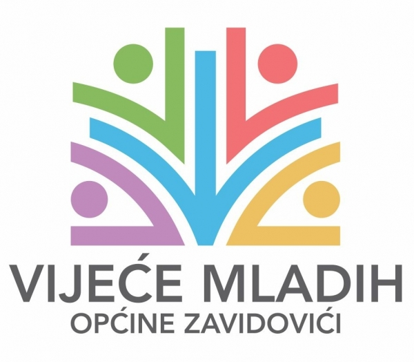 SELECTED LOGO OF THE YOUTH COUNCIL OF THE ZAVIDOVIĆI MUNICIPALITY