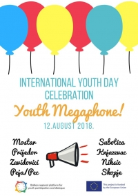 INTERNATIONAL YOUTH DAY CELEBRATION - YOUTH MEGAPHONE