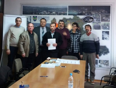 LDA ZAVIDOVICI SIGNED AND AGREEMENT WITH LOCAL COMMUNITY KOVACI