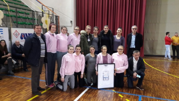 "FEMALE VOLLEYBALL PLAYERS FROM ZAVIDOVIĆI RANKED SECOND PLACE IN THE ""ALESSANDRA NAVONI 2016"" TOURNAMENT IN ITALY"