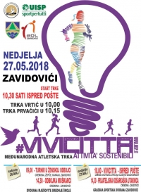 "Athletic race ""Vivicittá"" Zavidovići – 27. May 2018."