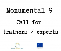 Call for trainers / experts - ''Monumental 9'' project